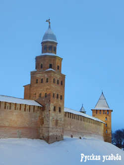 Башня Кокуй Новгородского Кремля. Фото Писанова С.