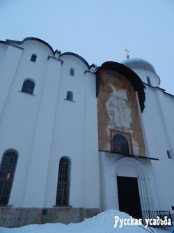 Западный портал Софийского собора. Фото Писанова С.