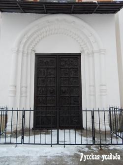 Магдебургские ворота на западном фасаде Софийского собора. Фото Писанова С.