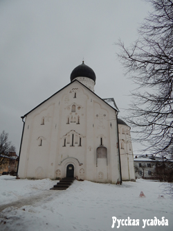 Церковь Спаса Преображения на Ильине улице (северный фасад). Фото Писанова С.