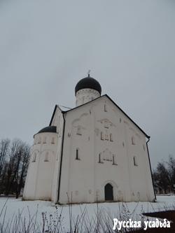 Церковь Спаса Преображения на Ильине улице (южный фасад). Фото Писанова С.