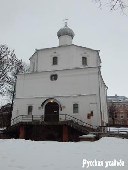 Церковь Георгия на Торгу. Фото Писанова С.