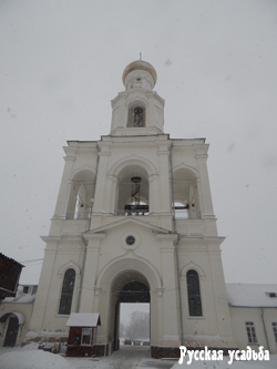 Колокольня  Свято-Юрьева монастыря. Фото Писанова С.