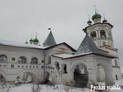 Галереи  между Никольским собором и трапезной. Фото Писанова С.