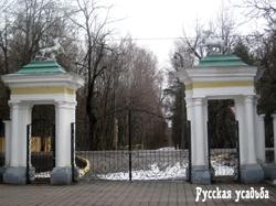 Усадьба Валуево. Въездные пилоны. Фото И.Зеленцова