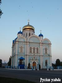 Город Данков. Тихвинский собор