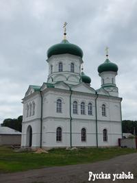 Троекуровский Дмитриевский Илларионовский монастырь. Ильинский храм.