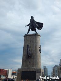 Город Липецк. Памятник Петру I 1996 года