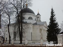 Усадьба Фряново. Церковь Иоанна Предтечи.