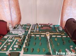 Экспозиция музея в усадьбе Фряново. План усадьбы