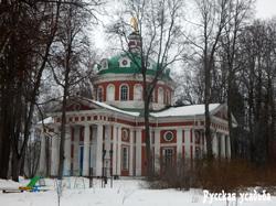Усадьба Гребнево. Церковь Гребневской Богоматери.