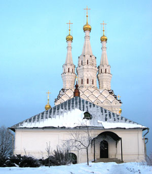 Одигитриевская церковь в монастыре Иоанна Предтечи. г. Вязьма