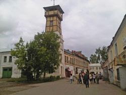 Музей Дом на Новинской в здании пожарной каланчи