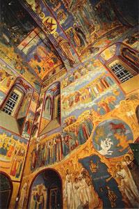 Внутренее убранство Воскресенского собора