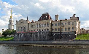 Рыбинск. Здание биржи