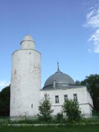 Минарет ханской мечети