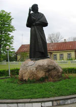 Новогрудок. Памятник А. Мицкевичу