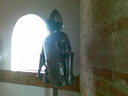 Экспонаты в замке в Мире