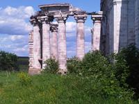 Никольская церковь, оформление входа
