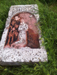 Гусь-Погост, нагробная плита