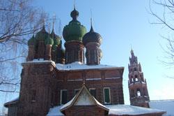 Церковь Иоанна Предтечи в Толчково. Фото Зенина Алла