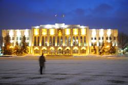 Здание Обкома на центральной площади. Фото Соловьев Андрей