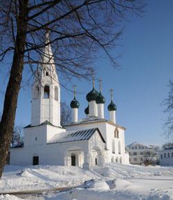 Церковь Николы Рубленый город. Фото Соловьев Андрей